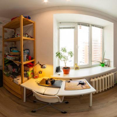 Виртуальный тур квартиры для Агенства недвижимости Соседи