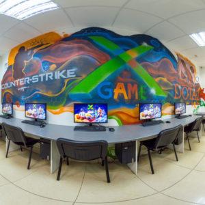 Виртуальный тур игровой клуб X-GAME Вологда